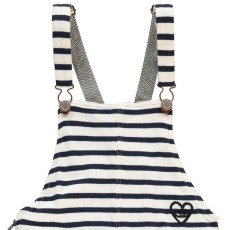 Scotch & Soda Vestito Salopette Righe-listing
