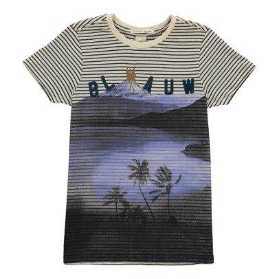 Scotch & Soda Gestreiftes T-Shirt Insel -listing