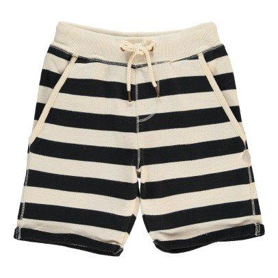 Scotch & Soda Striped Fleece Shorts-listing