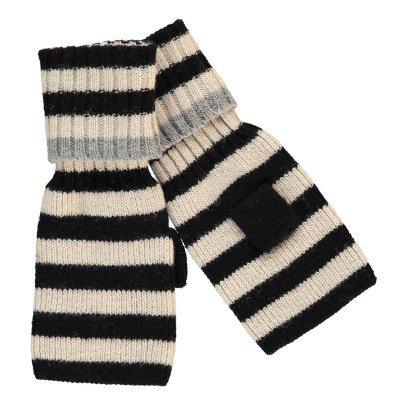 Beck Sönder Gaard Halbhandschuhe aus Wolle Stripes -listing