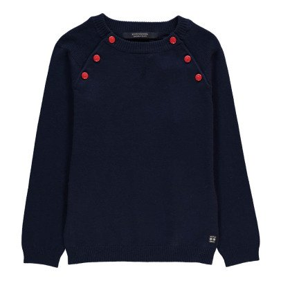 Scotch & Soda Button-Up Collar Jumper-listing