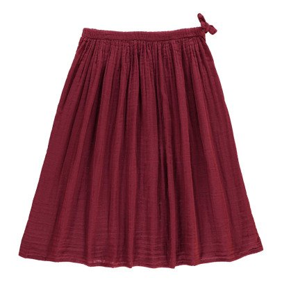 Numero 74 Ava Maxi Skirt Raspberry red-product