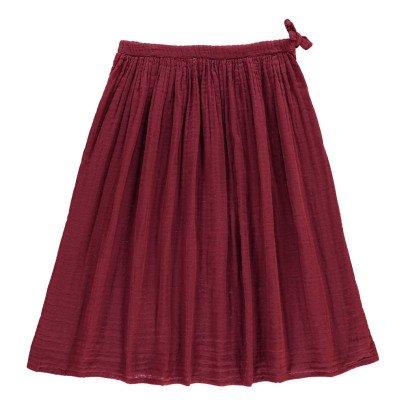 Numero 74 Ava Maxi Skirt Raspberry red-listing