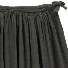 Numero 74 Ava Maxi Skirt Charcoal grey-product