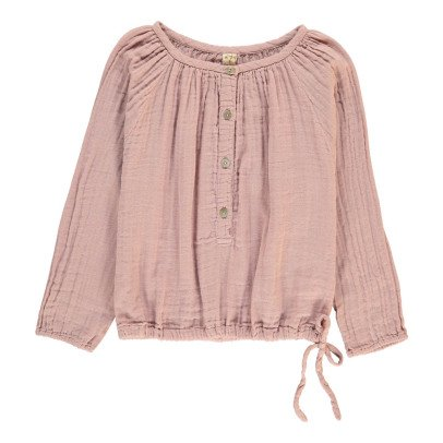 Numero 74 Naia Long Sleeve Blouse Dusty Pink-product