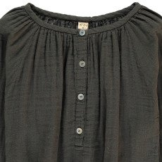 Numero 74 Naia Long Sleeve Blouse Charcoal grey-product