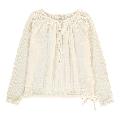 Numero 74 Naia Long Sleeve Blouse - Teen and Women's Collection Off white-product