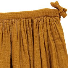 Numero 74 Ava Maxi Skirt Mustard-listing