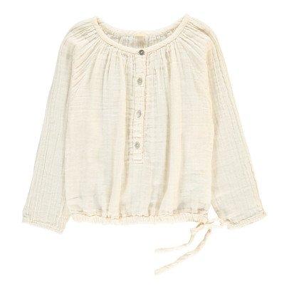 Numero 74 Naia Long Sleeve Blouse Off white-product