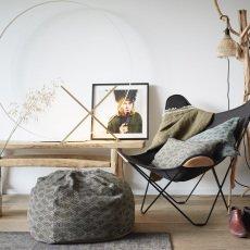 Maison de vacances Colvert Caterpillar Wool Cover Reversible Cushion-listing