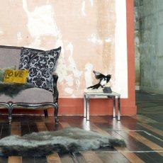 Maison de vacances Peau de mouton anglais 65x95 cm Anthracite-listing