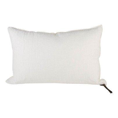 Maison de vacances Cojín Viceversa lino lavado arrugado blanco crudo-listing