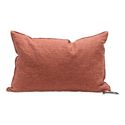 Maison de vacances Cojín Viceversa lino lavado arrugado Arcilla-listing