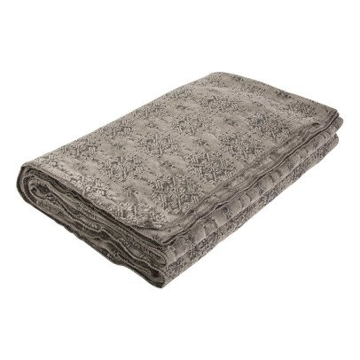 Maison de vacances Plaid vice versa Jacquard stone washed kilim Ecorce-listing
