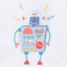 Paul Smith Junior T-shirt Robot -listing