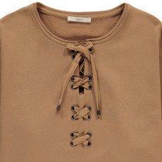 Sessun Lassie Lace Up Oversize Sweatshirt-listing