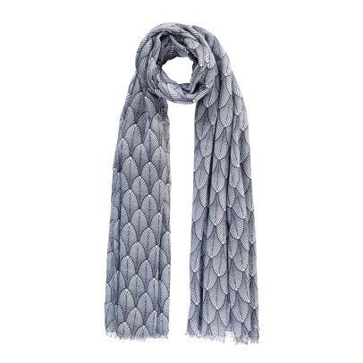 Beck Sönder Gaard Louvre Wool and Silk Scarf-listing
