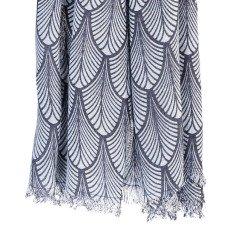 Beck Sönder Gaard Schal aus Wolle und Seide Louvre -listing