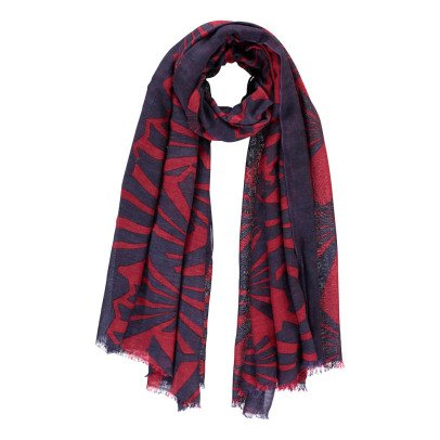 Beck Sönder Gaard Fresnel Silk and Wool Scarf-listing