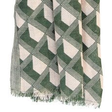 Beck Sönder Gaard Olivier Silk and Wool Scarf-listing
