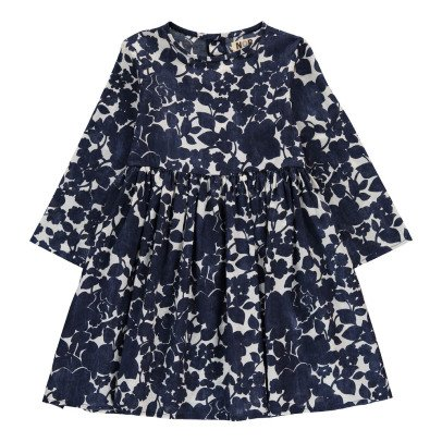 Noro Appoline Floral Dress Navy blue-listing