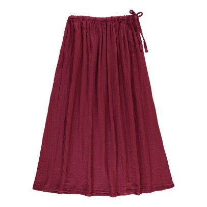 Numero 74 Ava Maxi Skirt - Teen and Women's Collection Raspberry red-product