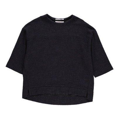 Pomandère Blouse Coton Texturé-listing