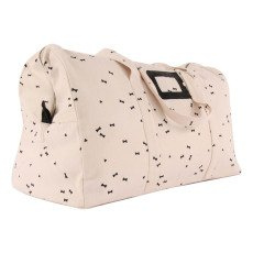 April Showers Manuel Black Print 24H Weekend Bag-listing