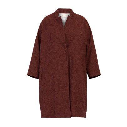 Pomandère Mantel aus Baumwolle und Leinen Oversize -listing