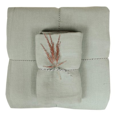 Lab - La Petite Collection Linen Duvet Cover-listing