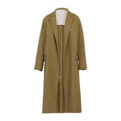 Pomandère Mantel aus Baumwolle und Leinen -listing