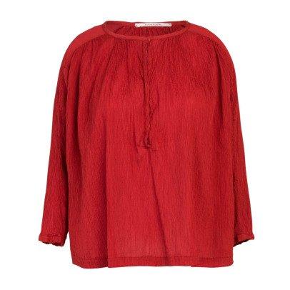 Pomandère Silk and Cotton Button Up Blouse-listing