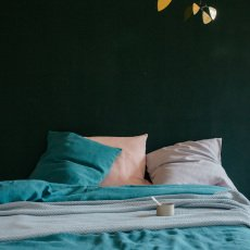 Lab Funda de almohada en lino-listing
