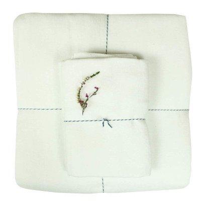 Lab Bettbezug aus Waschleinen-Weiß-listing