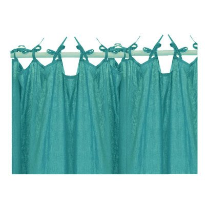 Lab Linen Knotted Curtain-listing