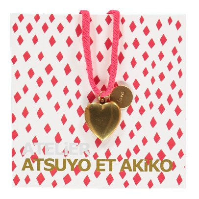 Atsuyo et Akiko Halskette Heart Love-listing
