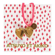 Atsuyo et Akiko Collier Heart Love-listing