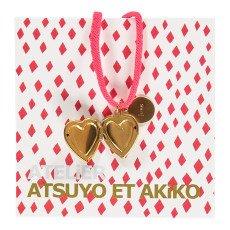 Atsuyo et Akiko Love Heart Necklace-listing