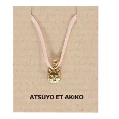 Atsuyo et Akiko Cat Necklace-listing