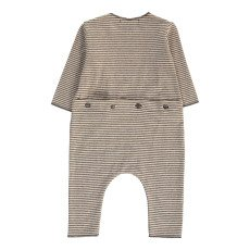 1+ IN THE FAMILY Telmo Striped Jumpsuit-listing