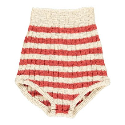 Bobo Choses Striped High Waisted Knit Culottes-product