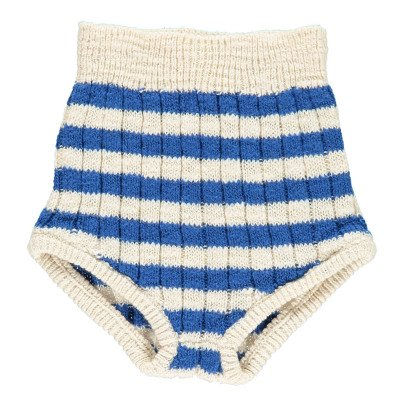Bobo Choses Culotte Maille Taille Haute Rayée-listing