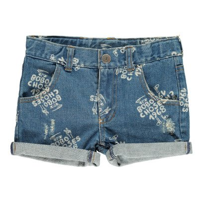Bobo Choses AO 1968 Denim Shorts-product