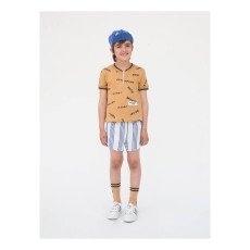 Bobo Choses Team B.C. Striped Shorts-listing