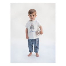 Bobo Choses Beachball Organic Cotton Jersey Harem Trousers-listing