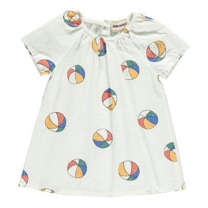 Bobo Choses Beachball Burn Out Percale Dress-product