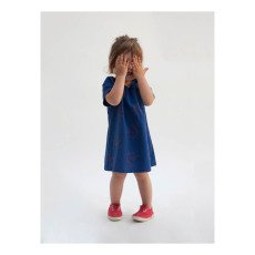 Bobo Choses Flamingos Burn Out Percale Dress-product