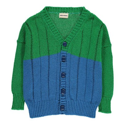 Bobo Choses Cardigan Bicolor B.C. Play	-listing