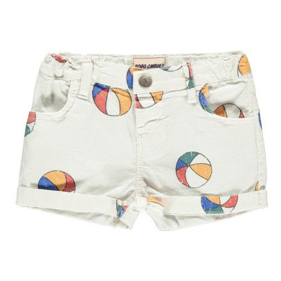 Bobo Choses Beach Ball Denim Shorts-listing