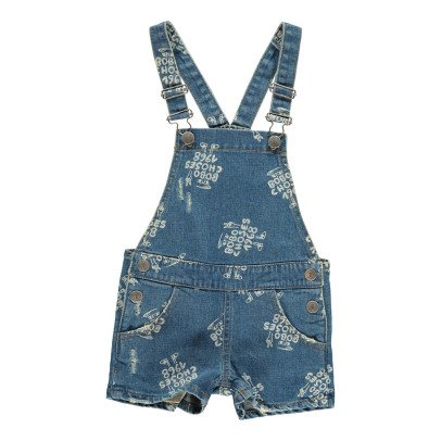 Bobo Choses AO 1968 Dungaree Shorts-listing